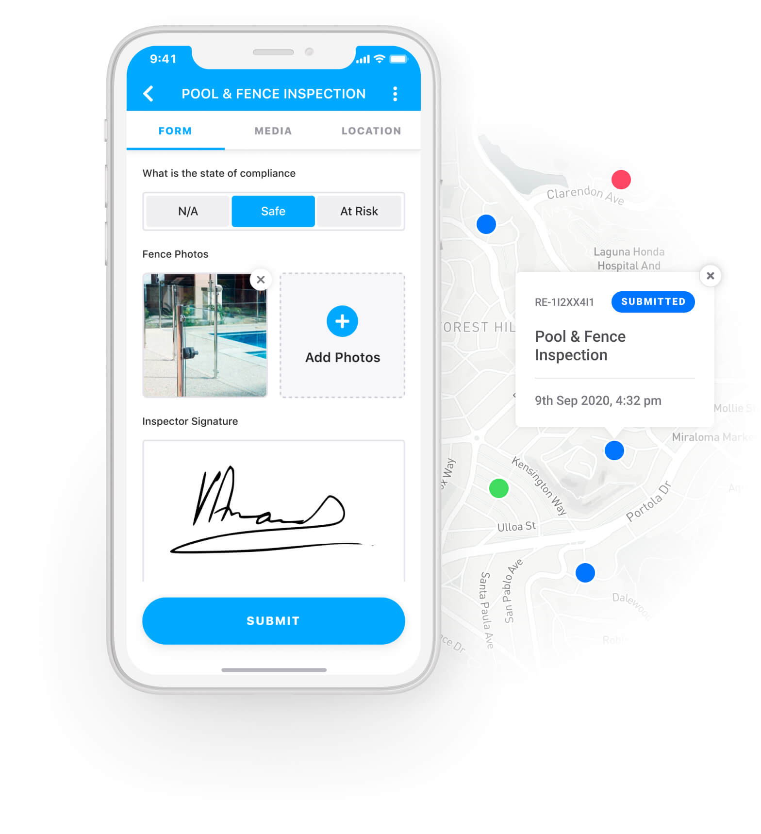 Pool Inspection App - Section 1